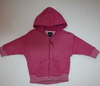 Gap Kids Girls Colorpop Slouchy Marled Hoodie Top size 4 5