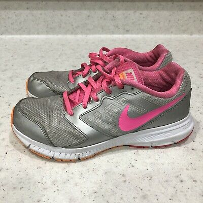 NEW GIRLS NIKE DOWNSHIFTER 6 PINK SHOE SHOES SIZE 4 4.5 5 5.5 6 685167-100