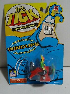The Tick Complete Set Of 6 Wacky Windup Figure Toys Bandai 1995 Wind-Ups