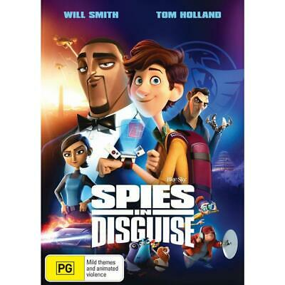 Spies In Disguise (DVD,2020) Release Date 03.04.2020 New - Reg  4 - PRESALE