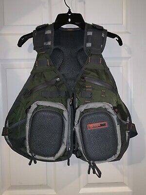 NEW FISHPOND TENDERFOOT YOUTH LADIE/'S FLY FISHING VEST IN CYCLEPOND FABRIC