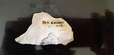 neolithic flint scraper tool awl from Fox Covert Wiltshire.