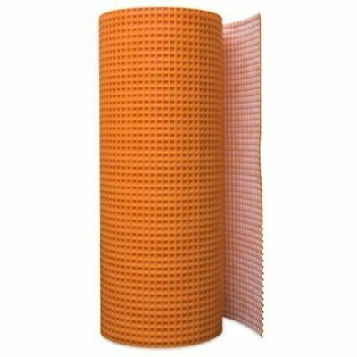 """Schluter Systems Ditra 15M Uncoupling Membrane 161 sq ft Roll 1//8/"""" Underlayment"""