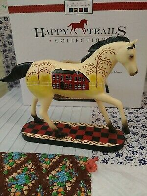ENESCO THE TRAIL OF PAINTED PONIES HAPPY TRAILS BRAVE HEARTS 4026349*
