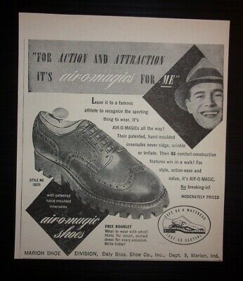 1948 Air O Magic Shoes Advertisement Marion, Indiana