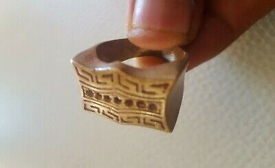Rare Extremely Ancient Bronze Ring Viking Artifact Ring Bronze Authentic