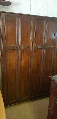 Old Charm Style Double Wardrobe