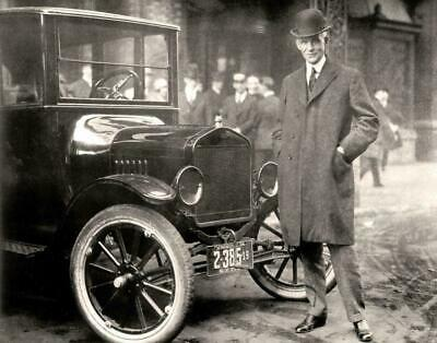 HENRY FORD QUOTE GLOSSY POSTER PICTURE PHOTO BANNER cars Detroit historical 2153