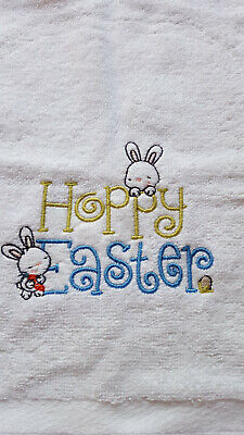 EASTER Personalised Embroidered Bath Towel