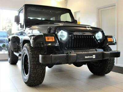 2005 55 Jeep Wrangler 4.0 Sahara 3D Auto 174 Bhp, Hardtop With Air Con. Leather,