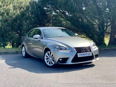 2014 Lexus Is 2.5 300H Executive Edition 4D One Former Keeper | Sat Nav | Dab