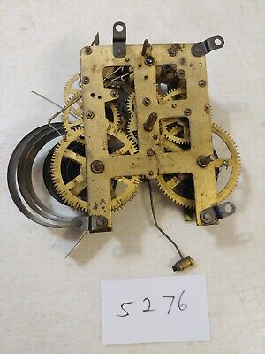 Antique Waterbury  Mantle Clock Movement From Clock Repairman Estate