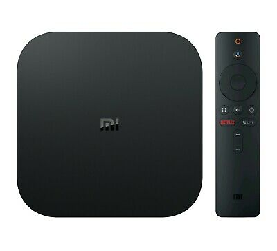 Xiaomi Mi Box S 4K HDR Android TV Streaming Media Player Google Assistant Remote