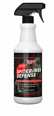 Spider and Web Defense for cob Web Removal, Cleaning, and Prevention 32oz.