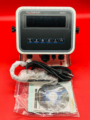 Avery Weigh-Tronix AWT05-507987 Scale Indicator ZM401-SD3 AWT05507987 ZM401