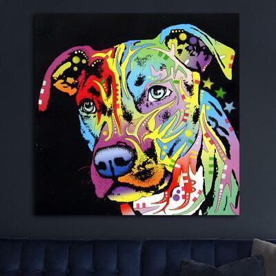 Angel Pit Bull HD Canvas prints Painting Home decor Picture Room Wall art Poster