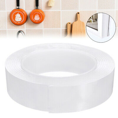 Nano Magic Tape Double-Sided Traceless Washable Adhesive Invisible Anti-Slip