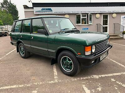 Range Rover Classic 3.9i 1992 RHD 39,900 miles from new Restored