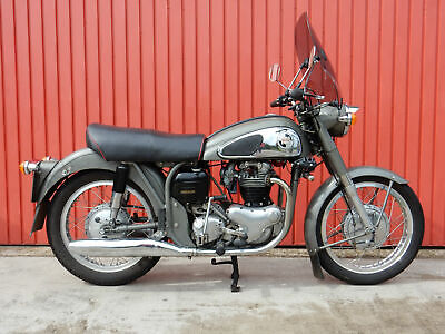 Norton Dominator 1956 Wideline Fitted With 1967 650SS Engine - Please see Video