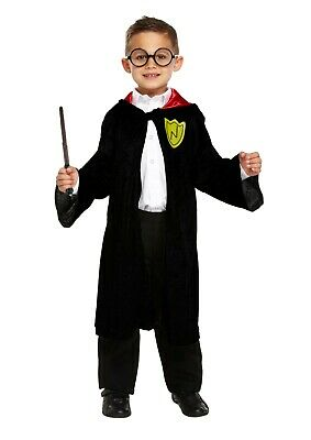 New Childrens Kids Boys Wizard Childs Fancy Dress Costume Outfit World Book Day