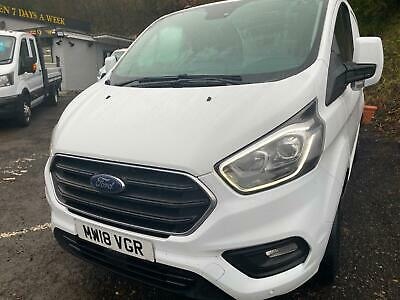 2018 18 FORD TRANSIT CUSTOM 2.0TDCi ( 130PS ) EU6 300 L1H1 LIMITED / LOW MILES