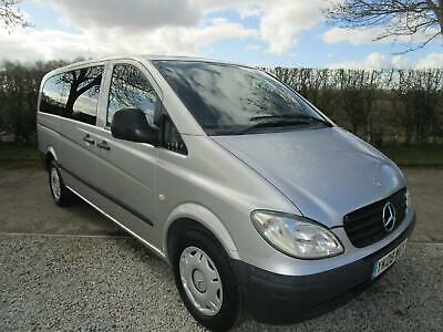 Mercedes-Benz Vito 120 V6 CDi Traveliner Extra Long Left Hand Drive with 8 Seats