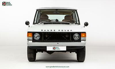 Range Rover Series 1 // Early Suffix A // Family Owned From New // Full History