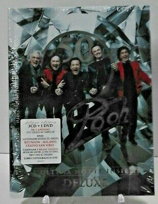 POOH - Pooh 50 - L'Ultima Notte Insieme  (3 Cd+Dvd  / DigiBook. / LIBRO 40 Pag)