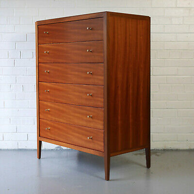 Loughborough Furniture chest of 6 drawers Heals Mid-Century G-Plan