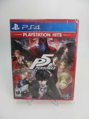 NEW - Persona 5 PlayStation Hits (Sony PlayStation 4, 2017) PS4 ~ FACTORY SEALED