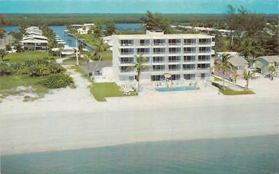 FORT MYERS BEACH, FL Florida KAHLUA INN & Nearby Homes ROADSIDE Chrome Postcard