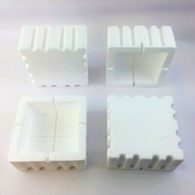 Polystyrene Corner Protect (82x82x86mm) All Qty's Foam Edge Guards Protection