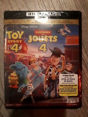 Toy Story 4  [4K Ultra HD + Blu-ray + Digital] (Bilingual) BRAND NEW