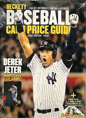 NEW BECKETT BASEBALL CARD 2020 ANNUAL PRICE GUIDE #42 42nd EDITION - JETER!
