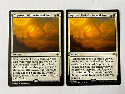 Approach Of The Second Sun X4 M//NM Magic The Gathering MTG Amonkhet