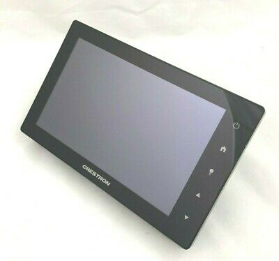 "Crestron TSW-752-B-S 7"" Touch Panel Touch Screen Control Unit Black w/ mount"