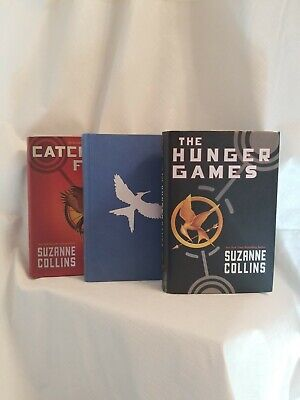 Hunger Games Trilogy Complete BOOK SET Hardcover Suzanne Collins