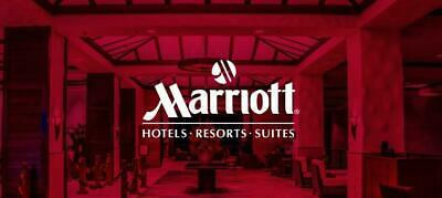 Marriott Bonvoy Up to 35k Points Category 5 Certificate One Night Redemption