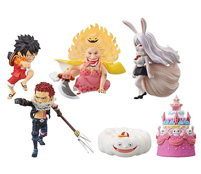 One Piece WCF World Collectable Figure hall cake Island 3 6 set from JAPAN luffy