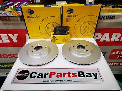 BLUEPRINT REAR DISCS AND PADS 239mm FOR HONDA CIVIC CRX 1.6 VTEC 1990-92 EE8