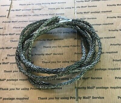 "3//8/"" DIA Weathervane VINTAGE BRAIDED COPPER  LIGHTNING ROD GROUND CABLE-12 FEET"