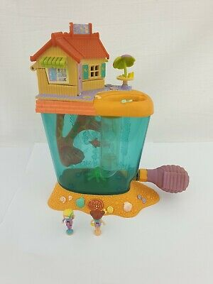 Vintage Polly Pocket Dolphin Island With Both Original Dolls 1997 By bluebird