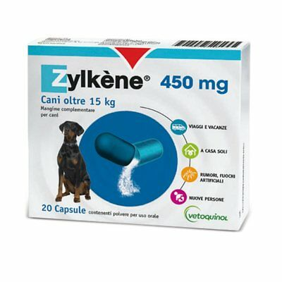 Zylkene 20 Compressed Vetoquinol Feed Complementary Wellness Dogs Cats mg450