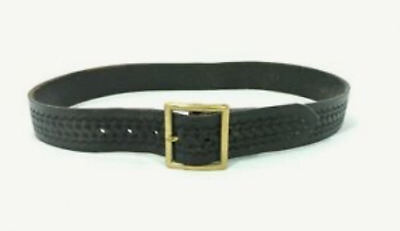 Safariland 51-42-4 51 Garrison Belt Black Basketweave Chrome Buckle Size 42/""