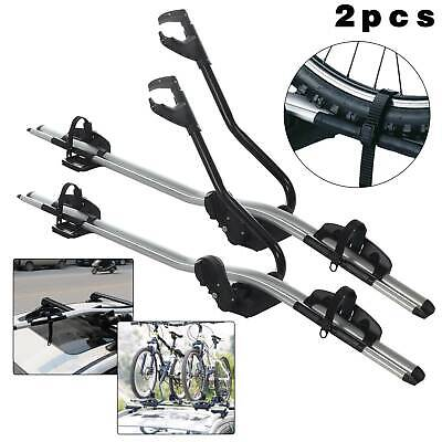 2 Bicycle Bike Car Cycle Carrier Rack Universal Fitting Saloon Hatchback