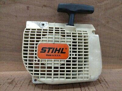039 Stihl Chainsaw Badge Replacement Plastic OEM Never used NOT A STICKER