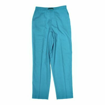 Alfred Dunner Women's  Casual Pants size 10,  turquoise, turquoise,  polyester
