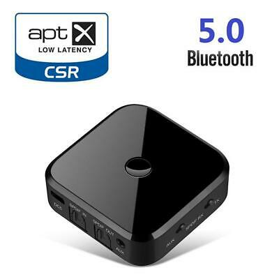TX16 APTX HIFI Bluetooth Receiver Transmitter SPDIF Optical Fiber Adapter #FW