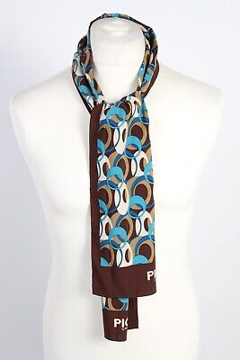Vintage Pic2 By Picard Smart Casual Printed Mens Scarf  Multi Colour - FL099