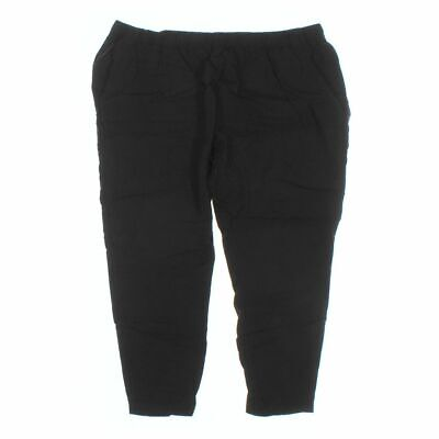 LYS Women's  Casual Pants size 3X,  black,  rayon,  good condition